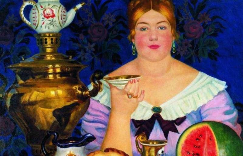福建武夷山的茶葉,得經過萬里漫漫長路運輸,價格昂貴,喝茶成為俄國上流社會的身分象徵。(圖/取自研之有物)