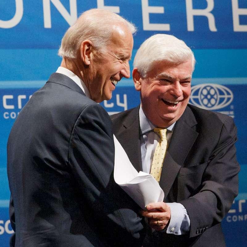 美國總統拜登曾說前聯邦參議員陶德是最佳好友(資料照,AP)