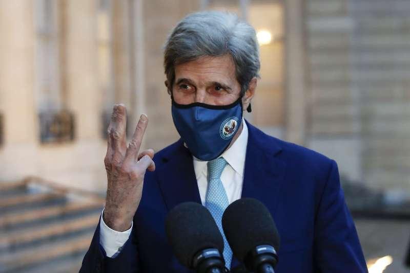 美國白宮氣候事務總統特使(Special Presidential Envoy for Climate)凱瑞(John Kerry)(AP)