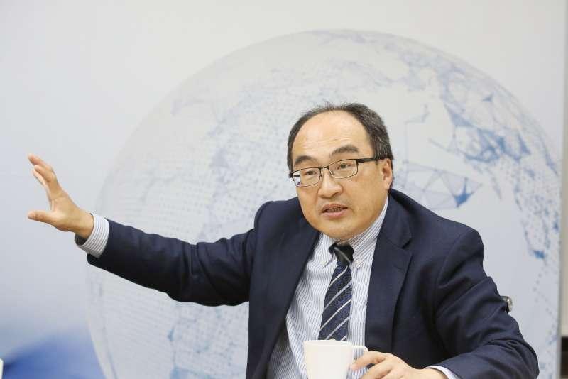 20210418-專訪經濟部工業局長呂正華。(柯承惠攝)