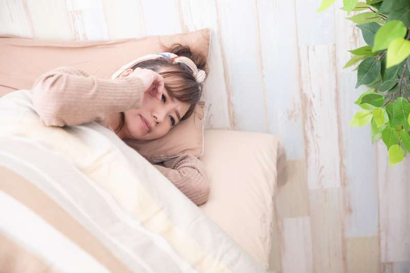 睡覺 失眠 睡不好(圖/取自photo-ac)