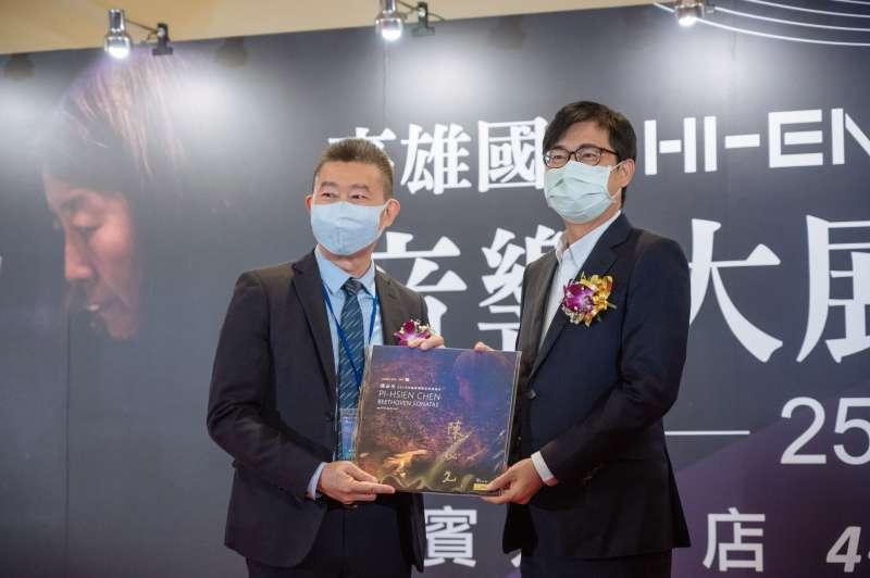 市長陳其邁受邀出席剪綵儀式。(圖/高雄市政府提供)