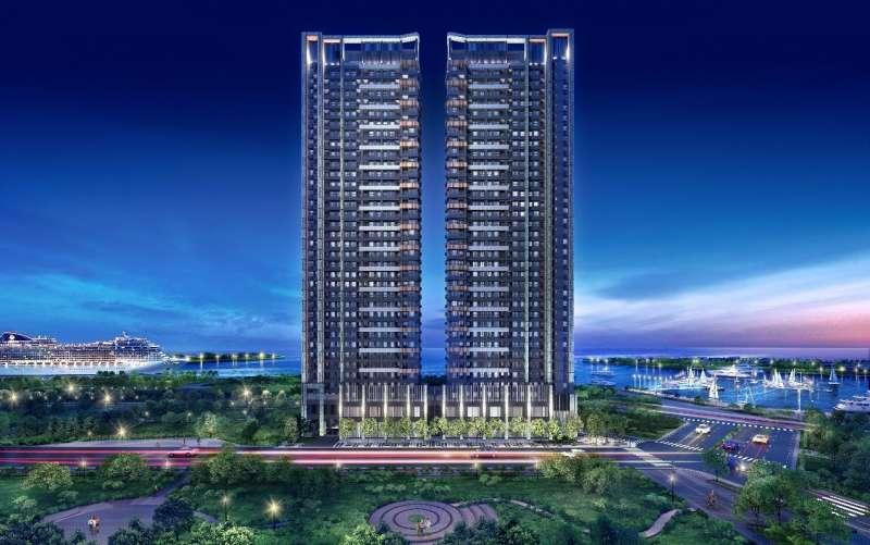 圖三:海灣&公園第一排的地理優勢,吸引來自北中南的客戶跨區購買。(圖/興富發提供)