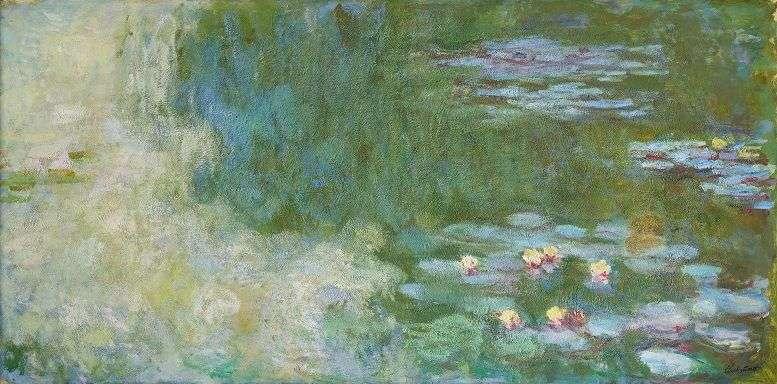 莫內的畫作:睡蓮,也在本次的捐贈名單之中(圖片來源:MMCA 國立現代美術館)