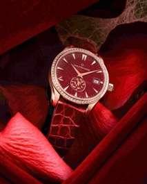 馬利龍自動日曆AutoDate LOVE腕錶可謂內外兼備,是獻給母親的最佳腕上良伴。(圖/寶齊萊提供).jpg