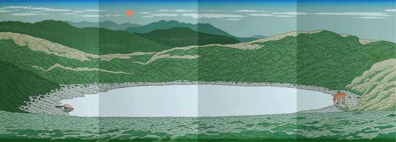 珍藏山林美好回憶!林務局開放嘉明湖國家步道登山證書申請。(圖/台東林管處提供)