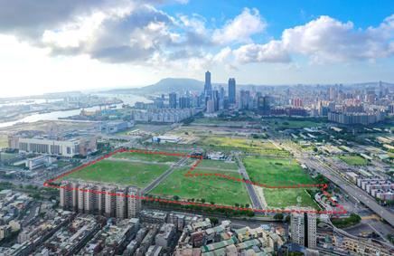 面積廣達590公頃的亞洲新灣區是高雄未來發展的重點區域之一。(圖/高雄市地政局提供)