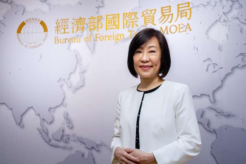 20210512-經濟部國際貿易局長江文若專訪。(蔡親傑攝)