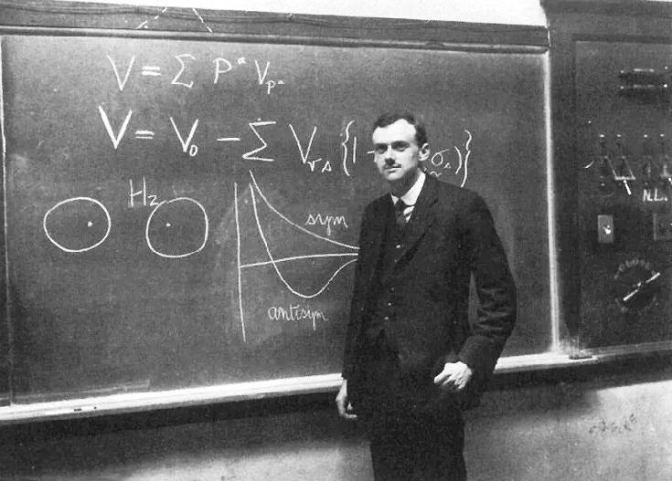 物理學家Paul Dirac(JOC/EFR/Wikimedia Commons/PD-US)