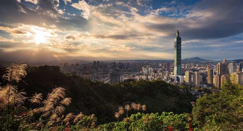 台北101、臺北101(圖取自Pixabay圖庫)