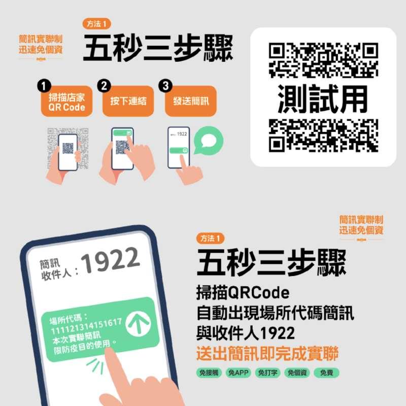 20210519-行政院數位政委唐鳳火速開發「簡訊實聯制」,將能快速完成實聯。(行政院提供)