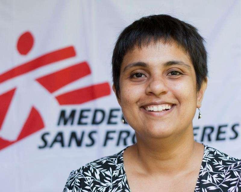 孟甘妮是無國界醫生「病者有其藥」項目及全球知識產權顧問,亦是新冠肺炎病倖存者。(MSF)