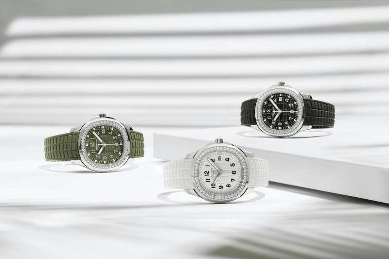 Aquanaut 5267/200A 鋼製石英腕錶(百達翡麗提供)