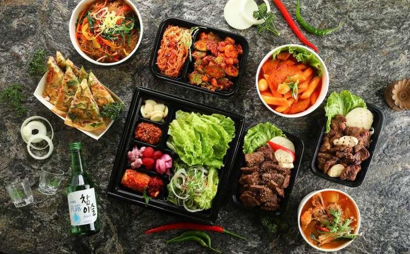 外送外帶餐點:三元花園(三元花園韓式餐廳@facebook)