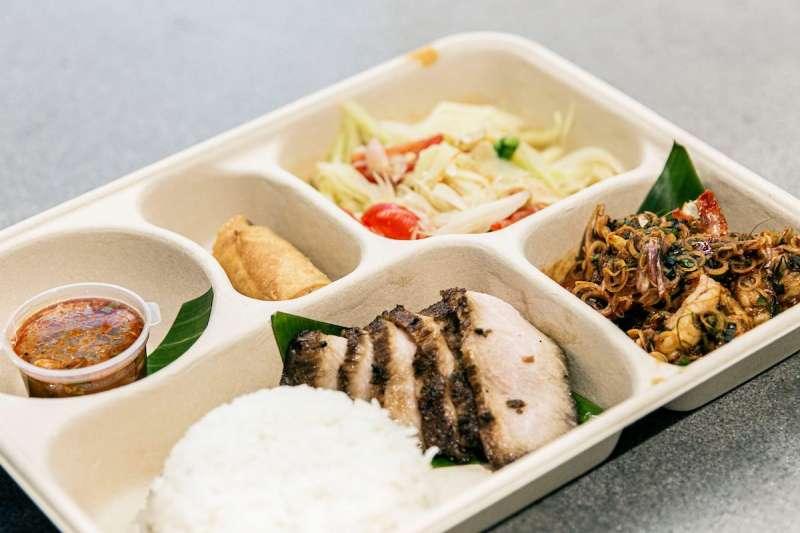 外送外帶餐點:Baan(圖 / BaanTaipei@facebook)