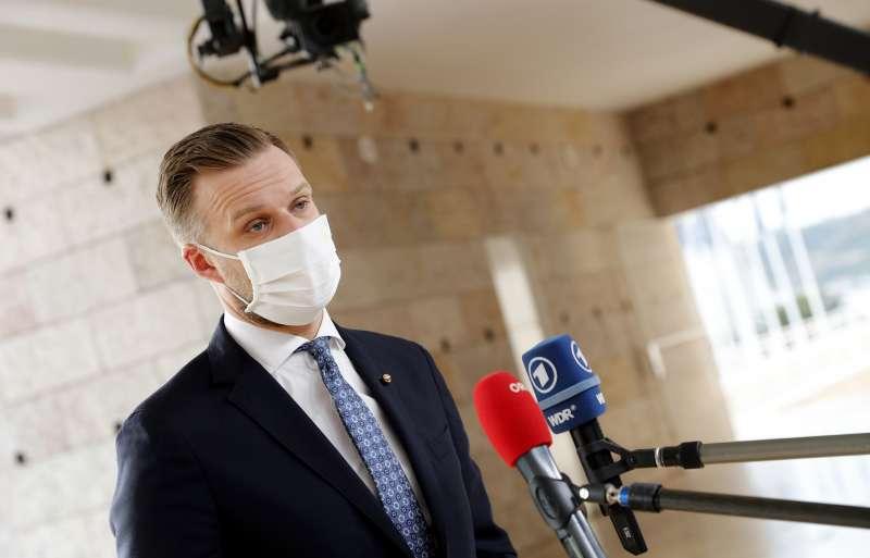 立陶宛外交部長蘭茲貝吉斯(AP)