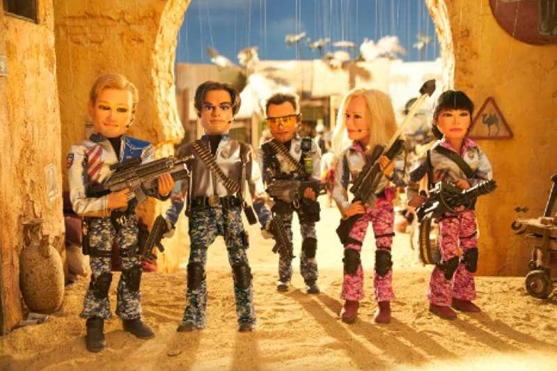 《美國賤隊:世界警察》劇照。(圖/Imdb)