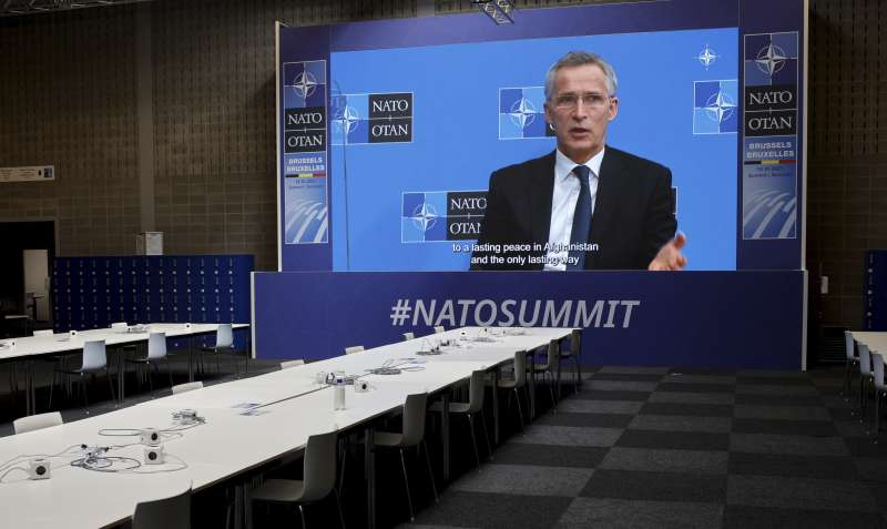 北約(NATO)秘書長史托騰柏格認為要制定更強而有力的對中國策略(AP)