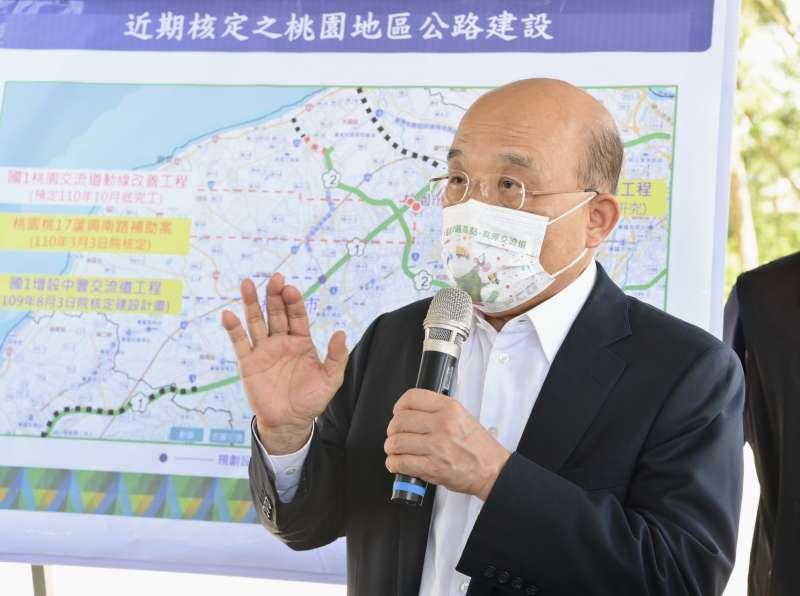 20210627-行政院長蘇貞昌。(行政院提供)