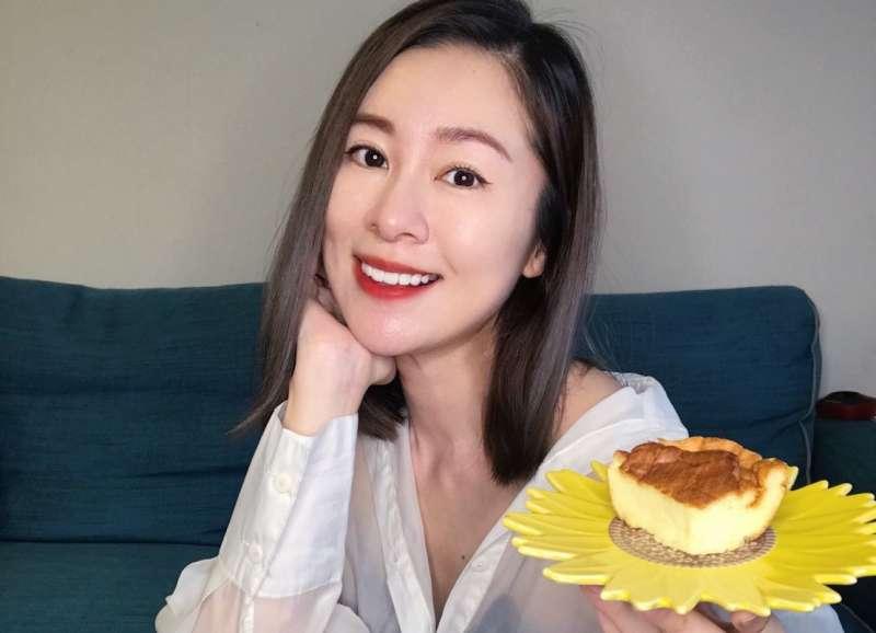 在3級防疫期間,張棋惠在臉書分享她的最新甜點作品。(圖/張棋惠提供)