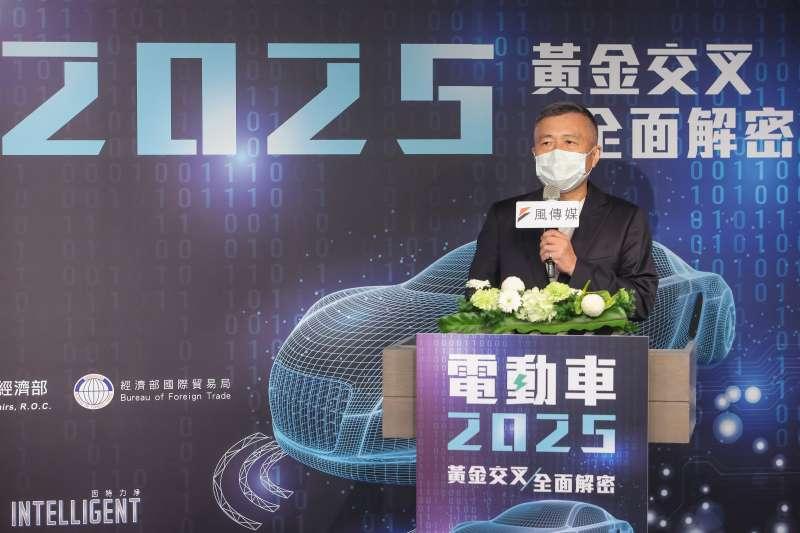20210716-MIH聯盟執行長鄭顯聰16日出席風傳媒舉辦「電動車2025」線上論壇。(顏麟宇攝)
