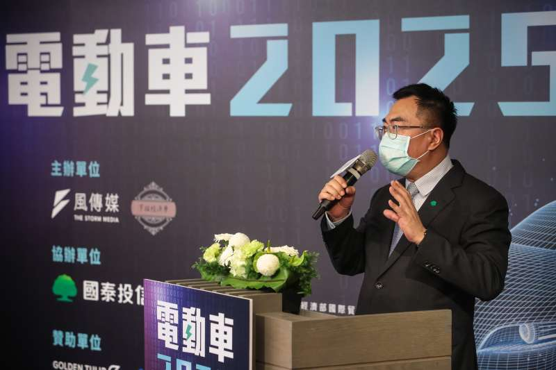 20210716-國泰投信總經理張雍川16日出席風傳媒舉辦「電動車2025」線上論壇。(顏麟宇攝)