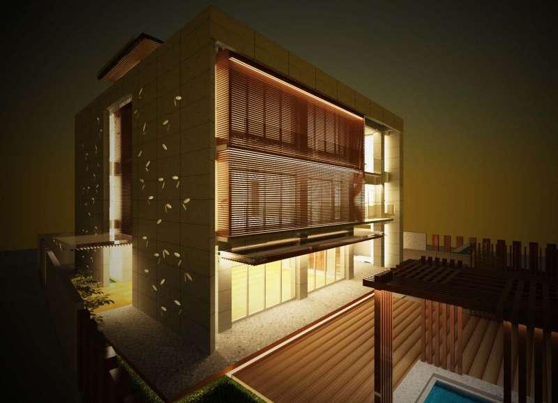 日式簡約清水模建築_北斗林宅設計案(圖片來源 B-STUDIO建築與室內整合設計)