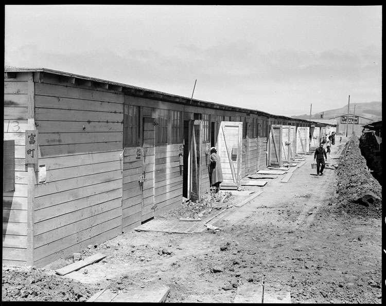 日本集中營。(作者提供)