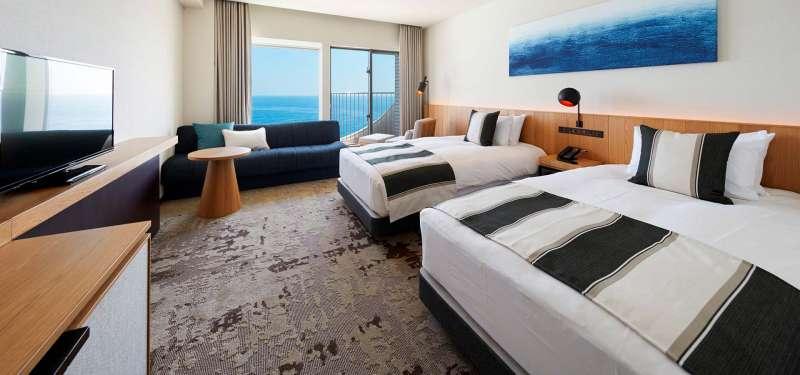 20210720-中國選手團下榻的大磯王子大飯店。(取自大磯王子大飯店官網)