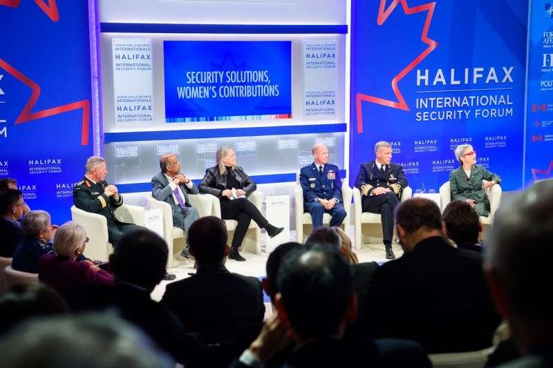 哈利法克斯國際安全論壇HFX不僅與美國和加拿大政界交好,也與北約關係良好。(取自Halifax International Security Forum臉書)