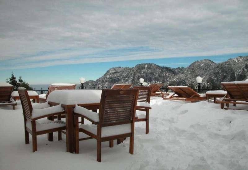 冬天造訪,一片雪茫茫(圖/HotelsCombined提供)