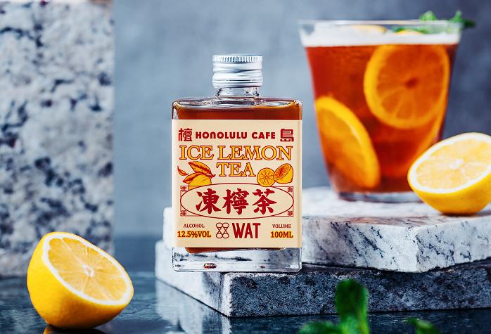 富含飽滿檸香的檀島凍檸茶雞尾酒(圖/WAT提供)