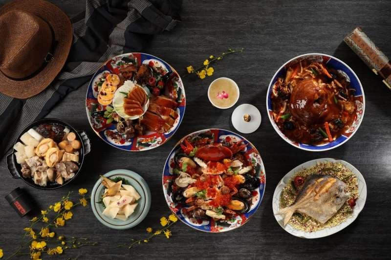 米其林星級餐廳「山海樓」,推出父親節外帶四人合菜組合(圖/取自山海樓台菜餐廳官網)