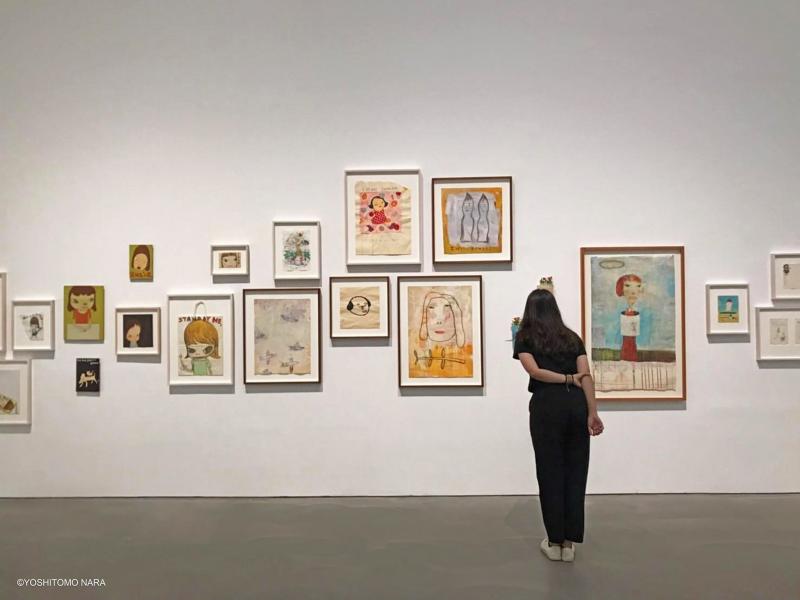 《奈良美智特展》高雄場(圖 / 中華文化總會@Facebook)