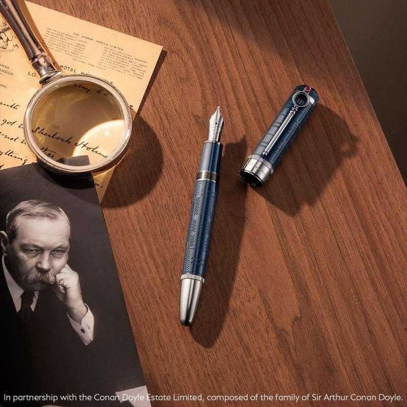 Montblanc萬寶龍大文豪系列向亞瑟·柯南·道爾致敬特別版鋼筆,NT$35,800(圖片/取自於 Montblanc)