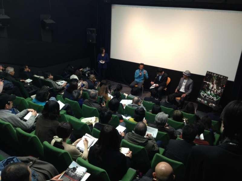賽德克.巴萊亦在日本上映,導演魏德聖親自前往參與。(取自賽德克.巴萊臉書)