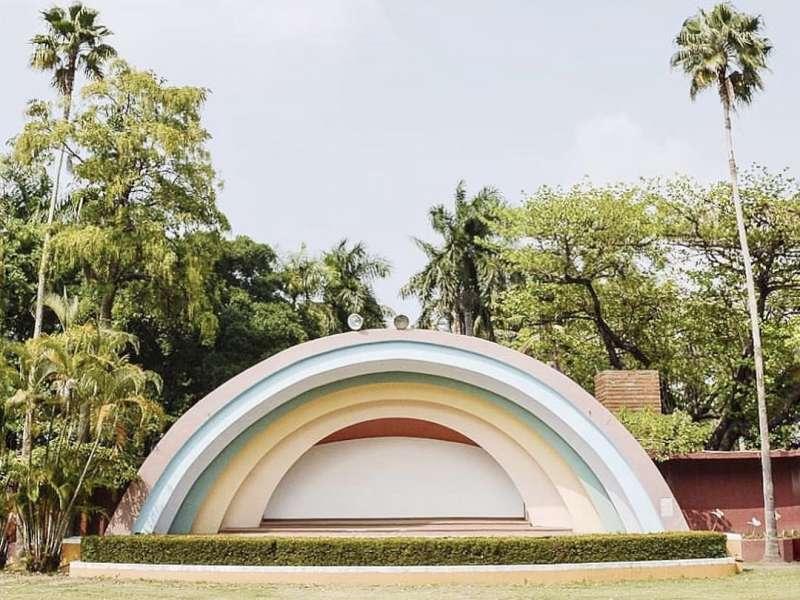 融合古蹟、生態及藝文的均衡發展,台南公園創造出古今交融、新舊輝映的多元風貌(圖/取自AWA)