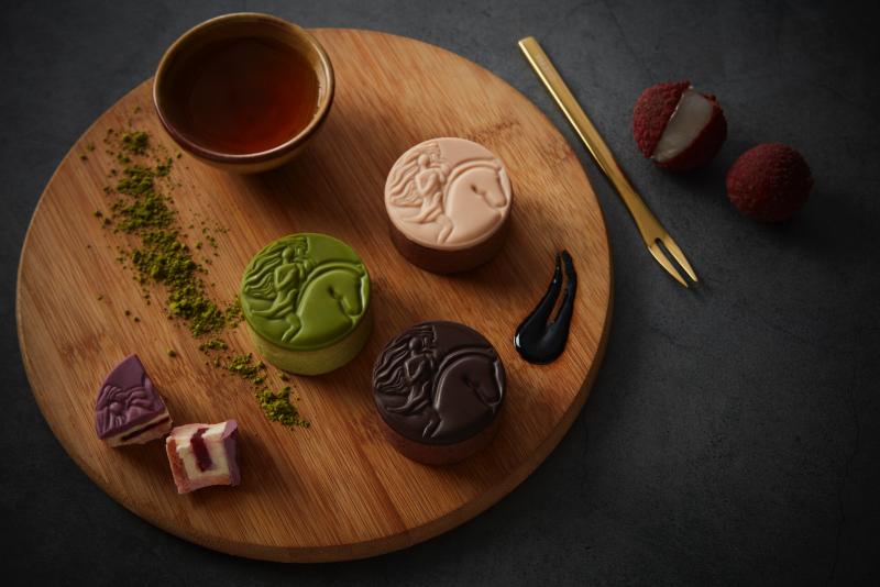 GODIVA中秋巧克力月餅推出三款新口味(圖 / GODIVA官網)