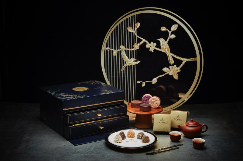 中秋節巧克力珠寶禮盒(圖 / GODIVA官網)