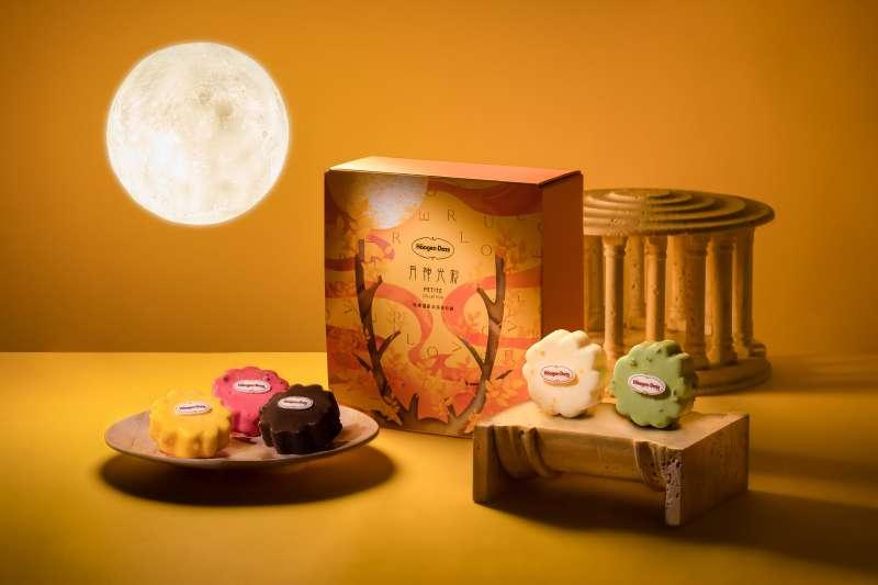 「月神光彩」禮盒(5入),售價1,280元(圖 / Häagen-Dazs 提供)
