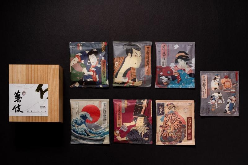 《頂級環保藝伎濾掛禮盒》(圖 / 黑沃咖啡官網)