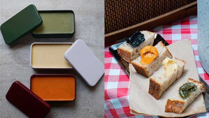料理風味升級產品「昆布鹽奶油」、「發酵豆腐奶油」、「微辣奶油」(圖/LOUU提供)