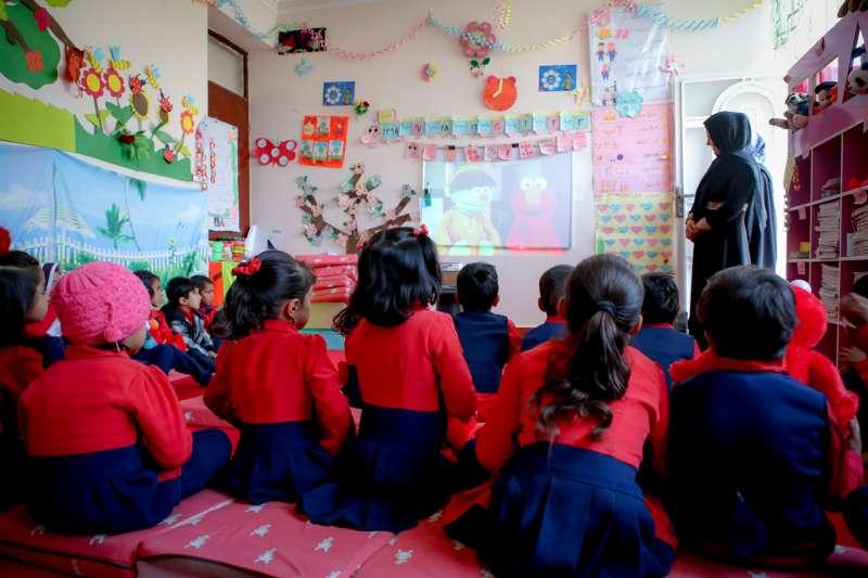 阿富汗世界展望會會長阿孫莎說,每一個阿富汗孩子都有很美的夢想,會努力讓他們一一成真。(台灣世界展望會)
