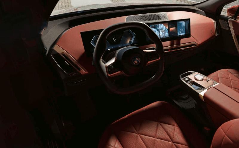 BMW 內裝簡約充滿質感(圖/BMW 官方網站)