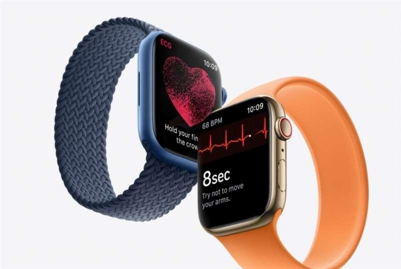新款Apple Watch也正式發表(圖片來源:Apple官網)