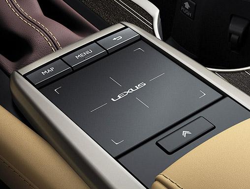 Remoto Touch 資訊整合系統操控介面(圖 / LEXUS 官網)