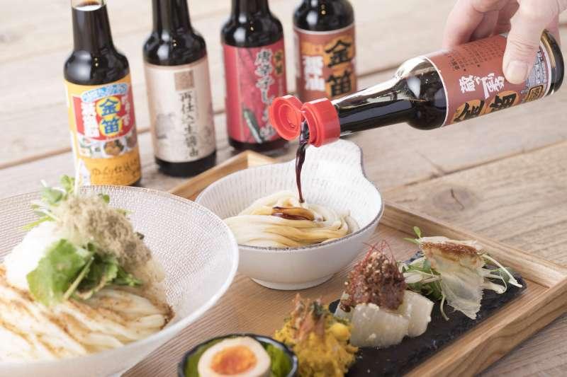金笛醬油園區-特選多種醬油烏龍麵。
