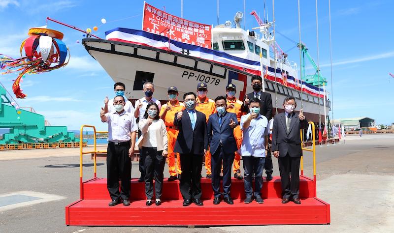 台船公司配合「國艦國造」政策及支援國防建設,提升經濟穩定培育造船人才。(圖/台船公司提供)