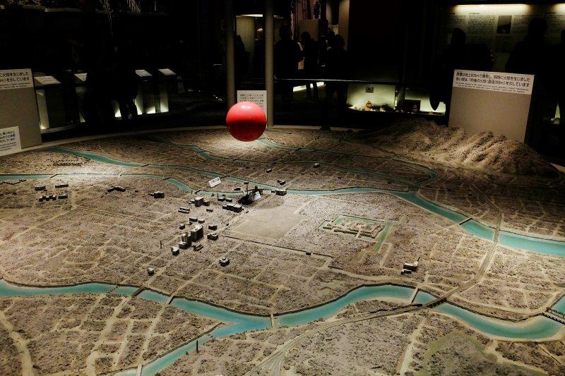 名為「小男孩」的原子彈在島醫院上空600米處爆炸,廣島市瞬間化作人間煉獄(圖/本文作者攝影)