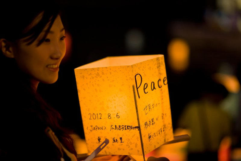 廣島人民跨越仇恨,祈求不再有戰爭的世界(圖/Freedom_II_Andres@flickr)